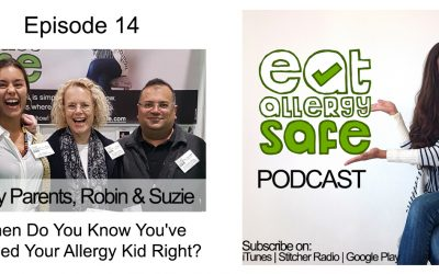 Episode 14: When Do You Know You've Raised Your Allergy Kid Right?
