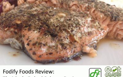 Thai Flavour Baked Salmon and Roasted Vegetables – Fodify Foods Review