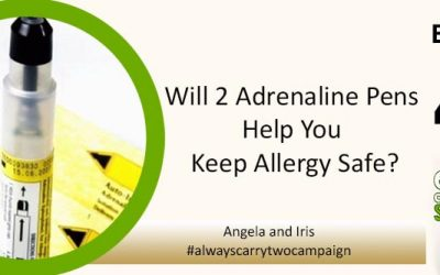 EAS 042: Will Carrying 2 Adrenaline Pens Help You Keep Allergy Safe? Founders Angela and Iris of the #alwayscarrytwo Petition Give Their Answer