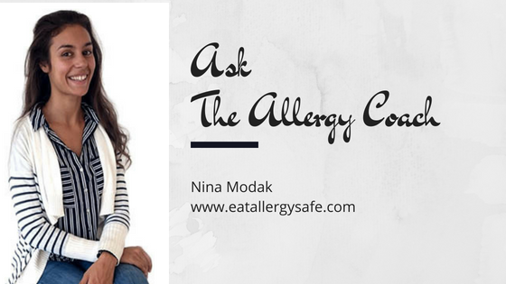 Ask the Allergy Coach Q7: Freaking Out Over Cross-Contamination, Is It Over the Top?