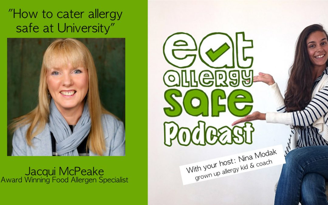 How to Cater Allergy Safe at University with specialist Jacqui McPeake (JACS Allergen Management)