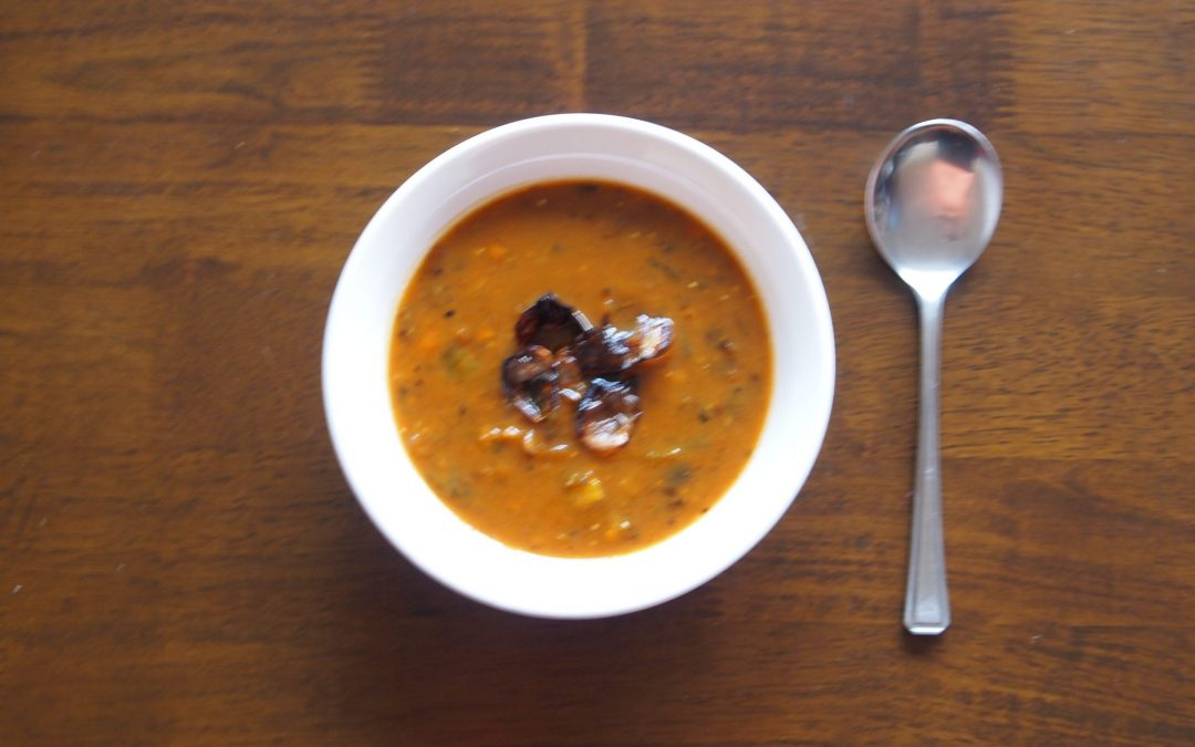 Sweet Potato Soup Recipe  (gluten free, nut free, dairy free, paleo, keto)